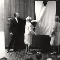 Decker Hall Dedication-June 1971-Paintings revealed of Deckers.jpg