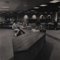 Nicholson Library Reference Desk