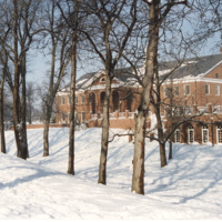 Library in Winter