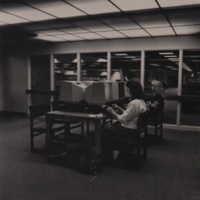 Nicholson Library Microform Readers