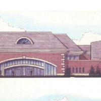 Kardatzke Wellness Center Artist's Concept
