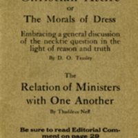 Our Ministerial Letter Cover 1917-1918