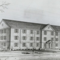 Myers Hall Architectural Drawing