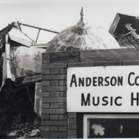 Anderson College Music Hall Demolition