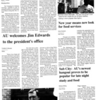 Andersonian Article Welcoming President Edwards