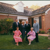 Presidents and wives at Boyes House
