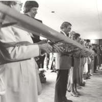 Ribbon cutting ceremony for Krannert Fine Arts Center--April 1979.jpg