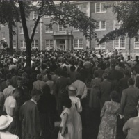 Morrison Hall Dedication Ceremony